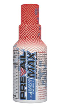 A picture of a bottle of Valentus PrevailMax, one of the Prevail products