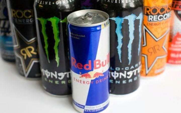 Picture of commercially available Energy Drink